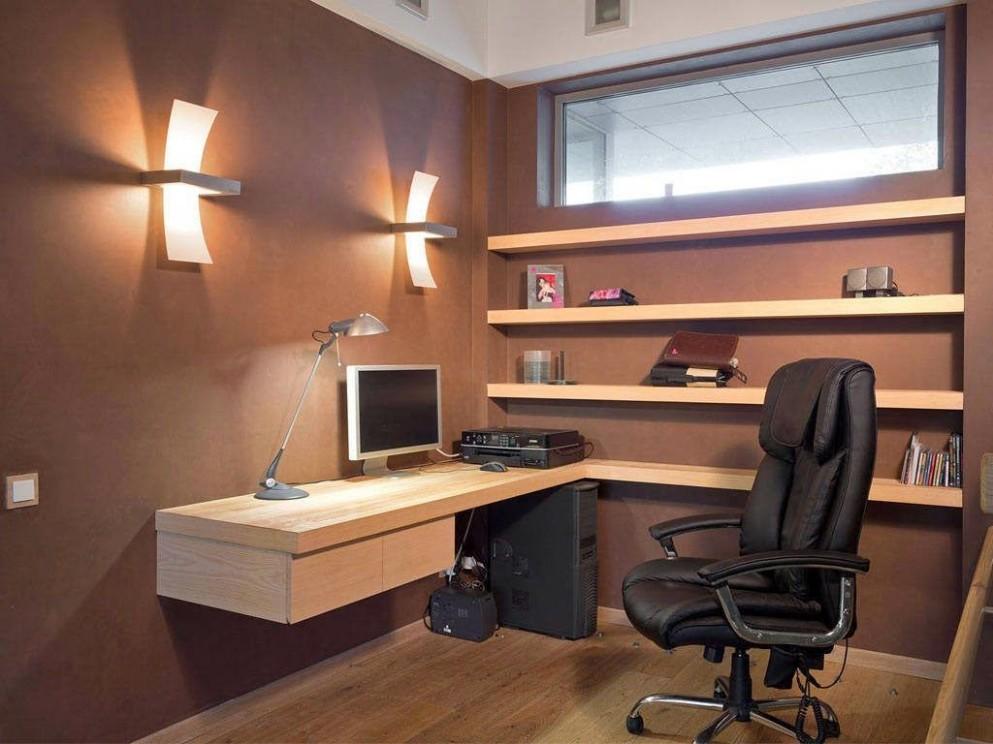 Enchanting Small Office Design Ideas Of Beautiful Basement Ideas  - Home Office Ideas Basement