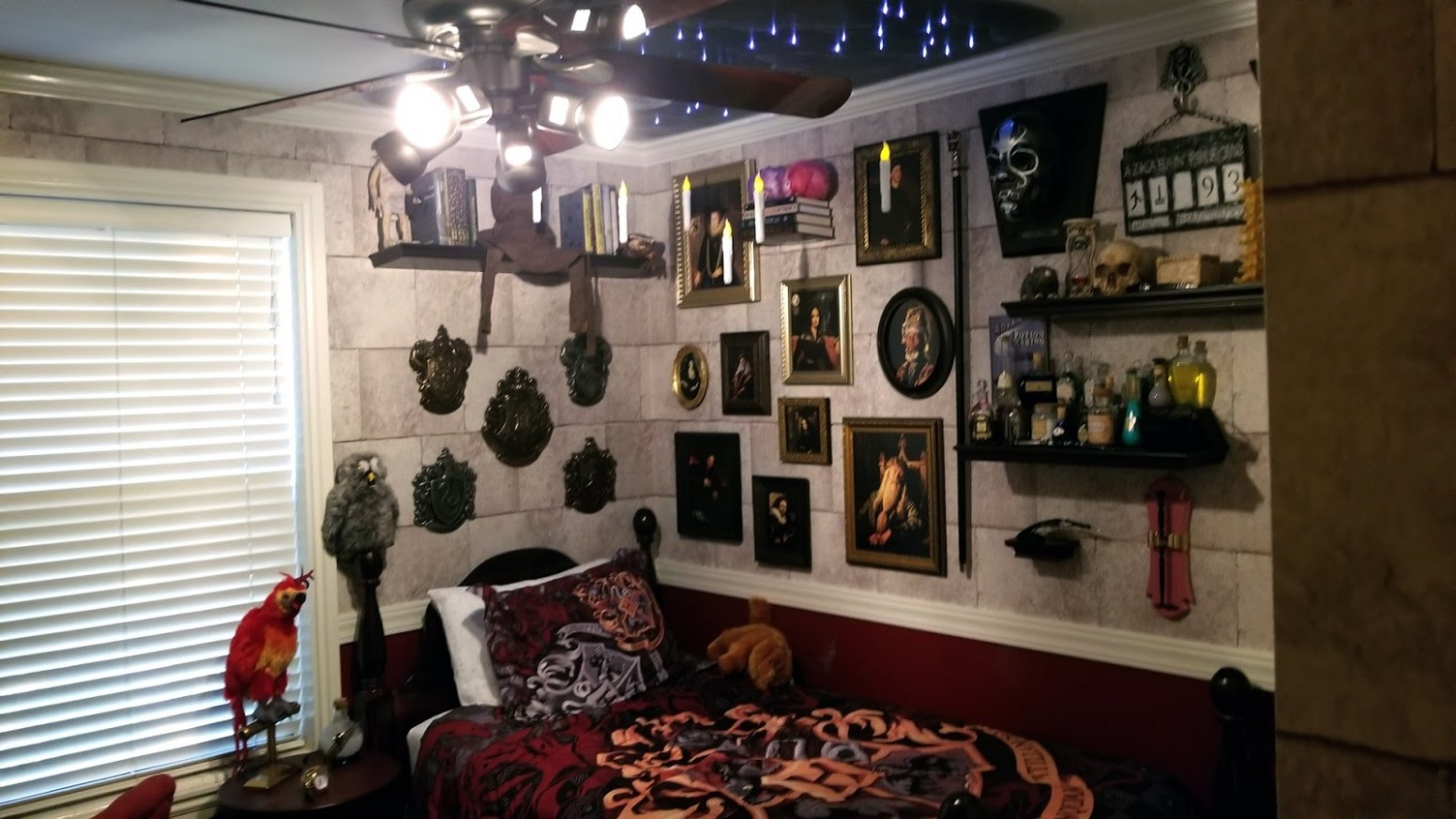 EPBOT: This Could Be The Harry Potter Room To End All Harry Potter  - Bedroom Ideas Harry Potter