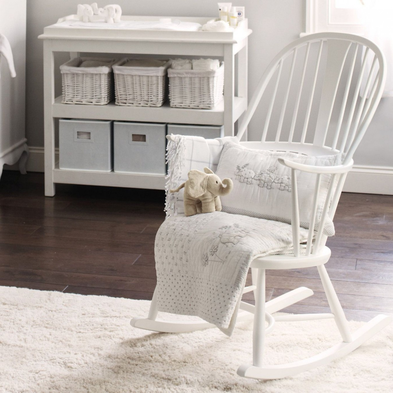 Ercol Rocking Chair - Ercol Furniture  The White Company  - Baby Room Rocking Chair