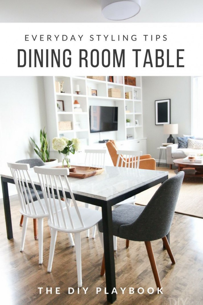 Everyday Styling Tips for Your Dining Room Table  DIY Playbook  - Decorating Your Dining Room Ideas
