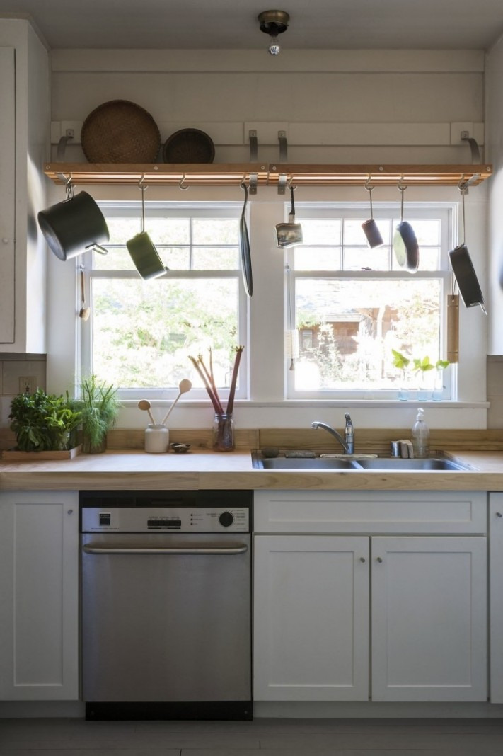 Expert Advice: 9 Genius, Reversible, Budget-Friendly Hacks to  - Temporary Kitchen Cabinet Covers