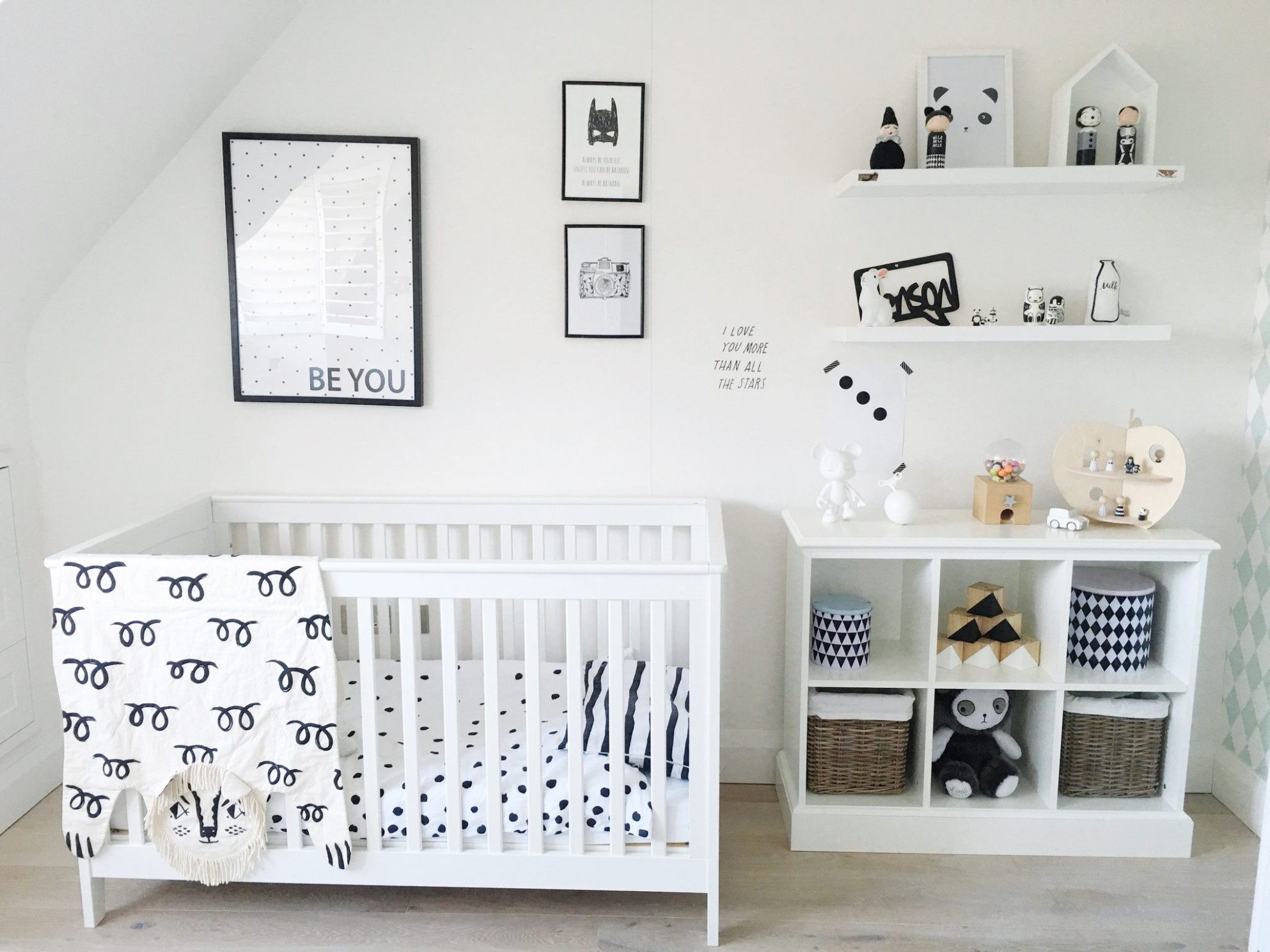 Exploring the Elegance and Minimalism of Monochrome Nurseries - Baby Room Pacific Place