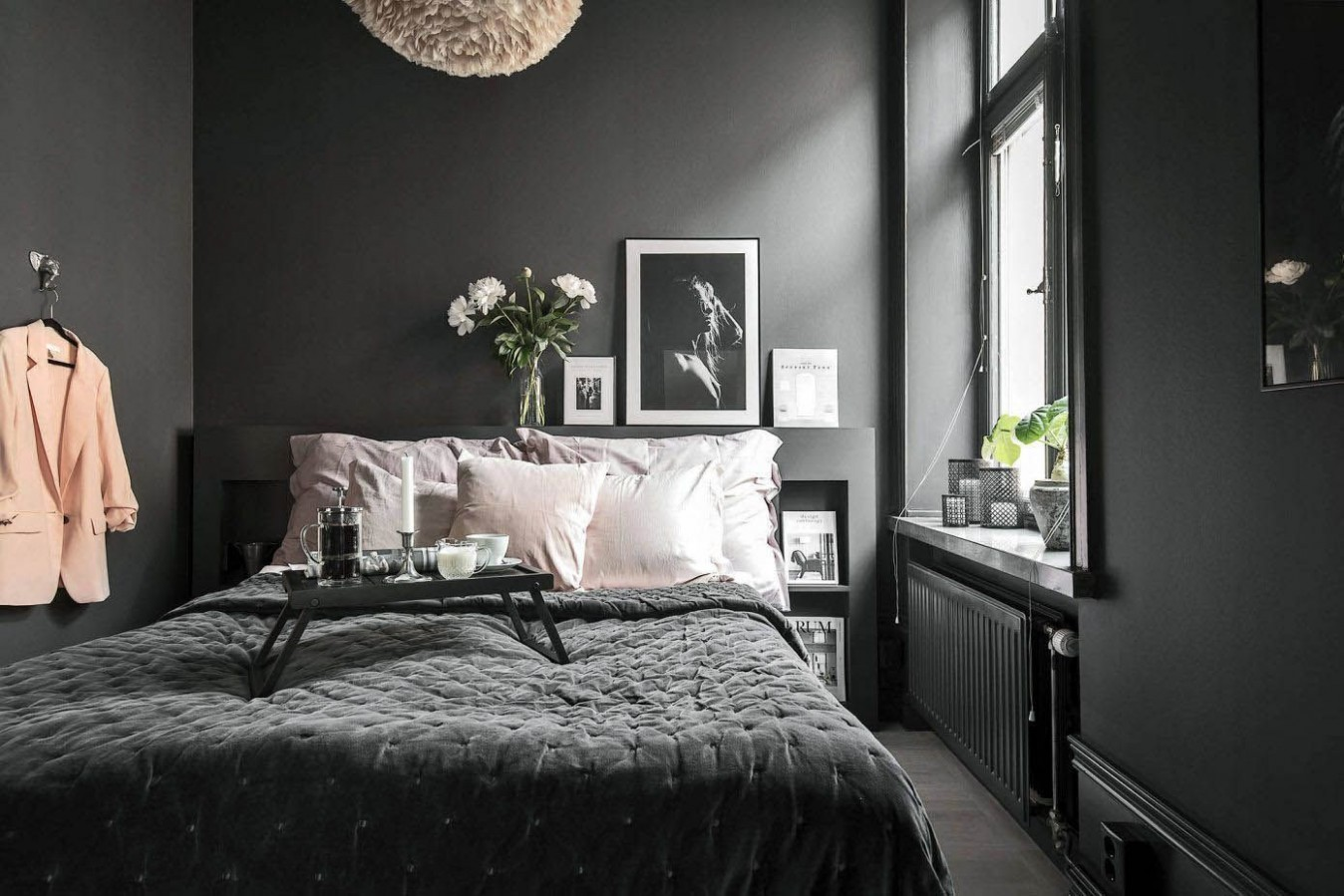 Extraordinary minimalist girl bedroom ideas that will impress you  - Bedroom Ideas Dark Grey