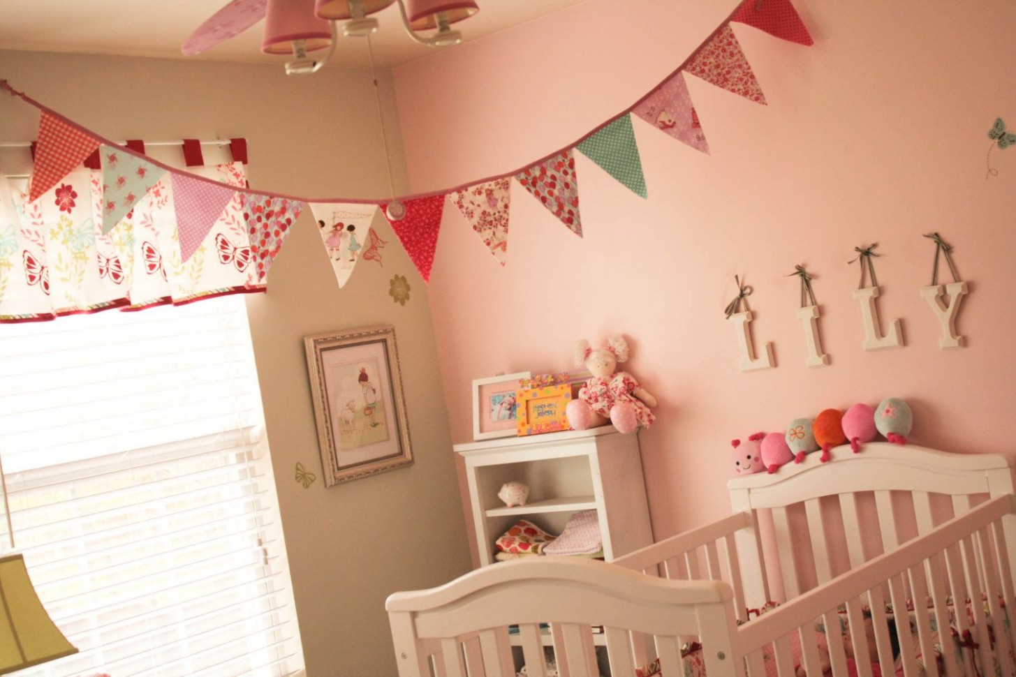 Fabric Bunting  Kid room decor, Nursery bunting, Fabric banner - Baby Room Bunting