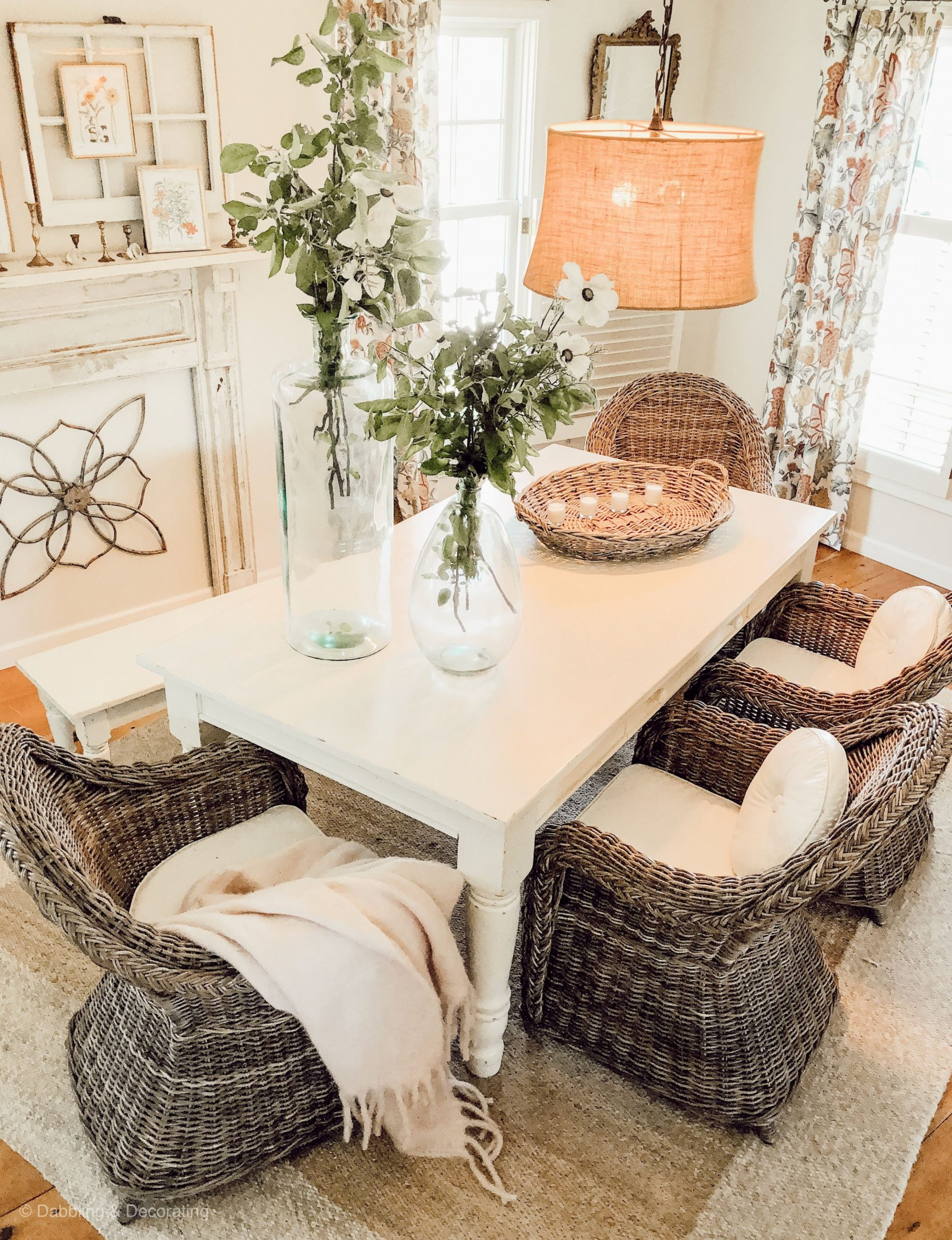 Farmhouse Dining Room  Pottery barn dining table, Dining room  - Dining Room Ideas Pottery Barn