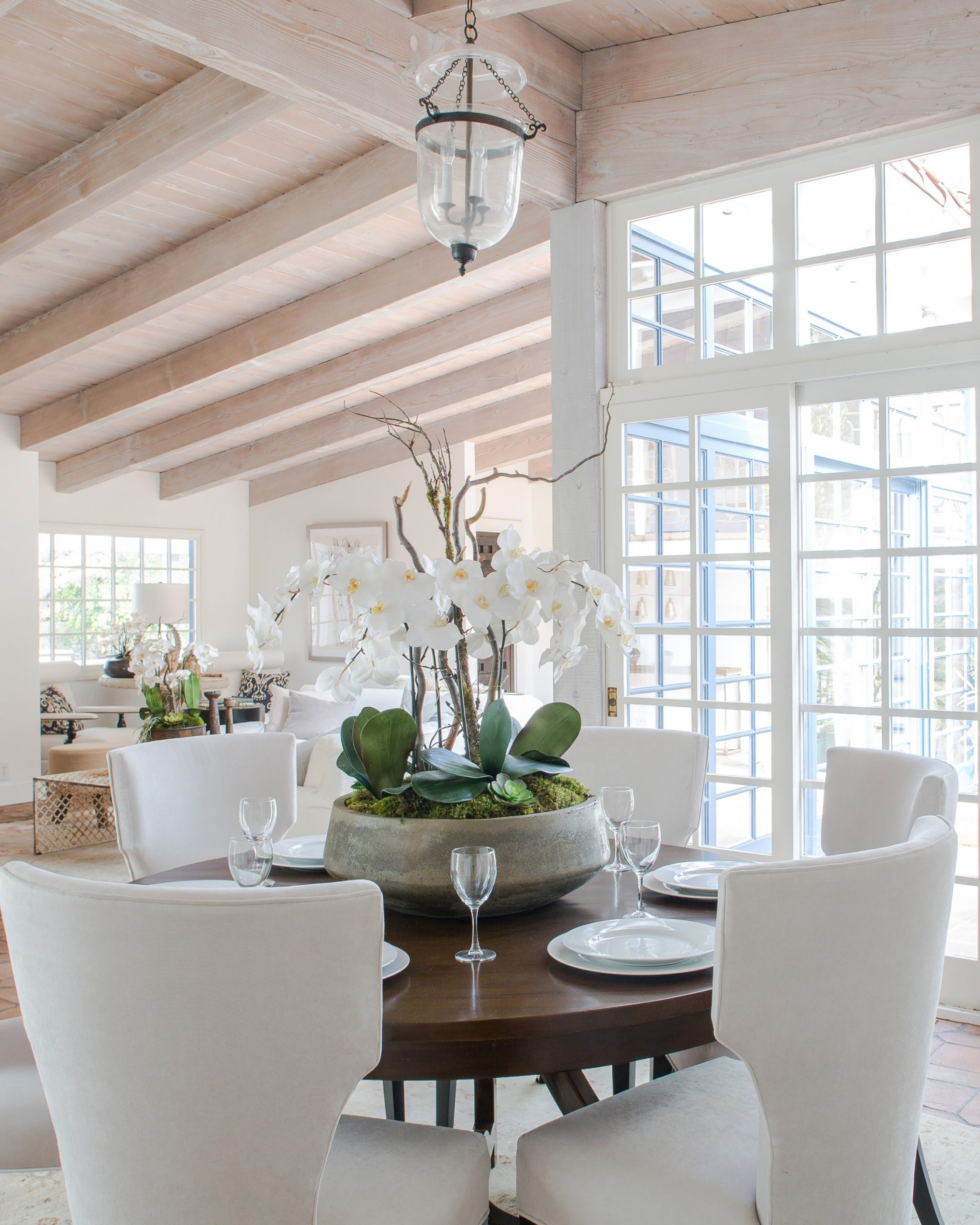 Feast Your Eyes: Gorgeous Dining Room Decorating Ideas  Martha  - Dining Room Arrangement Ideas