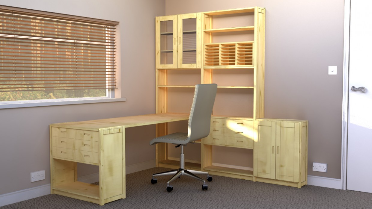 Five Office Design Ideas That Make The Most Of Your Small Space  - Home Office Storage Ideas Uk