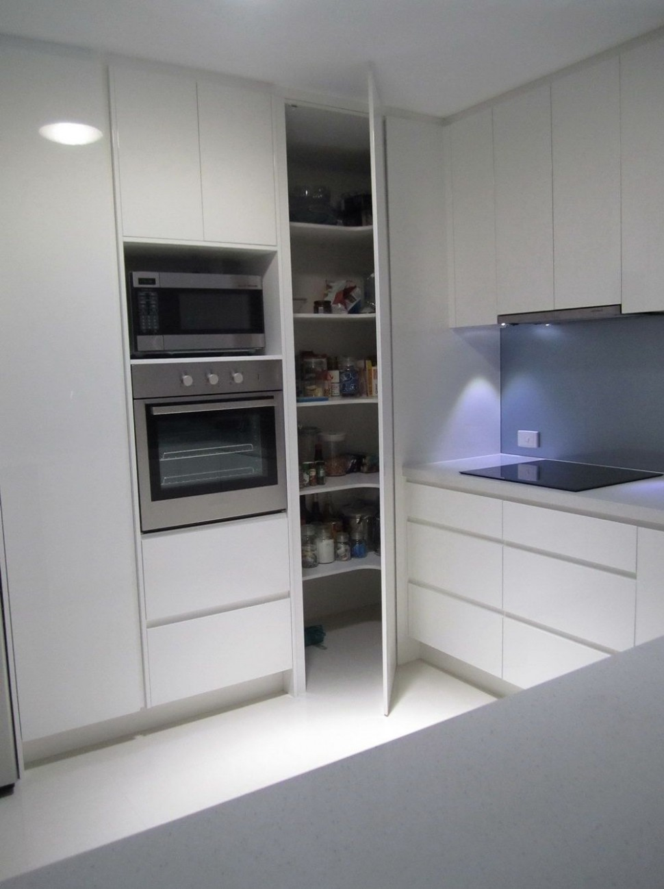 floor to ceiling kitchen cabinets w weird corner - Google Search  - Floor To Ceiling Corner Kitchen Cabinets