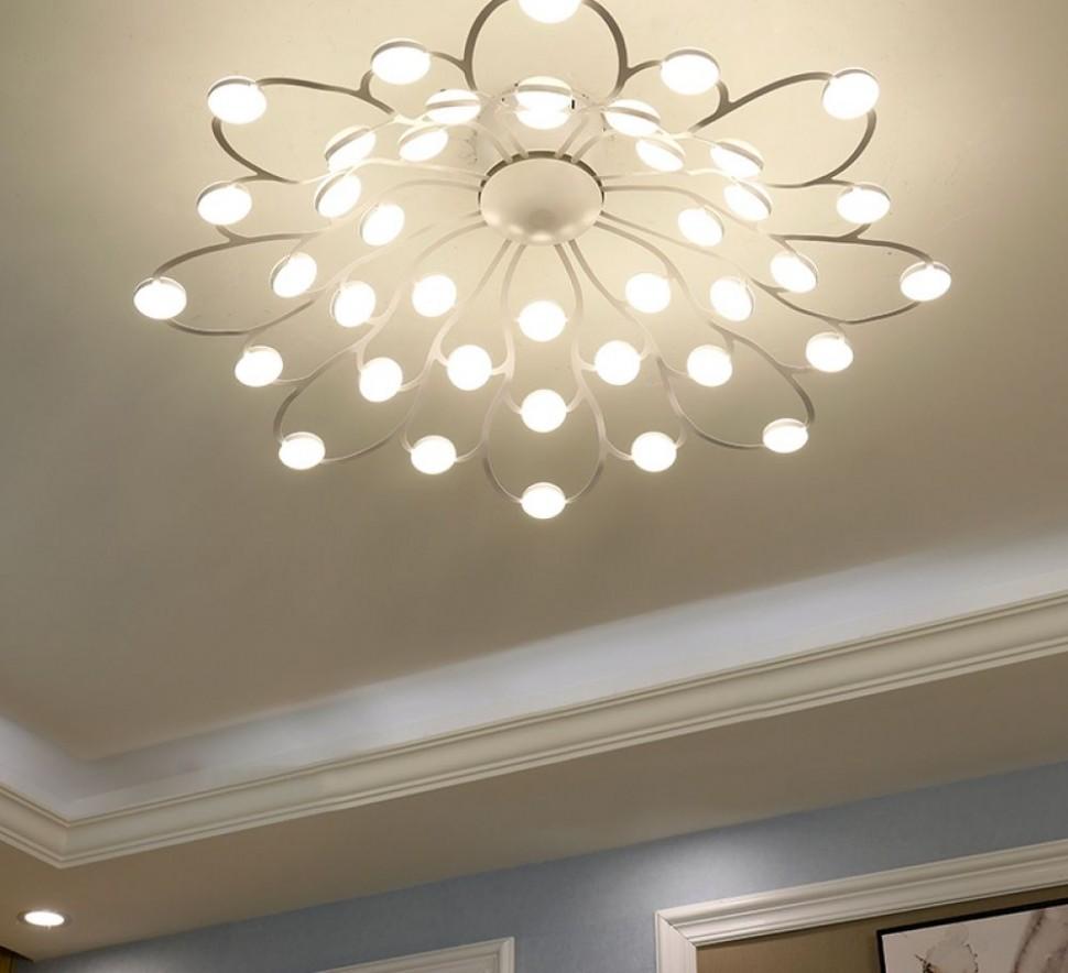 Flower Shaped LED Ceiling Light  MyShopHome  Ceiling lights  - Dining Room Lighting Ideas Low Ceilings
