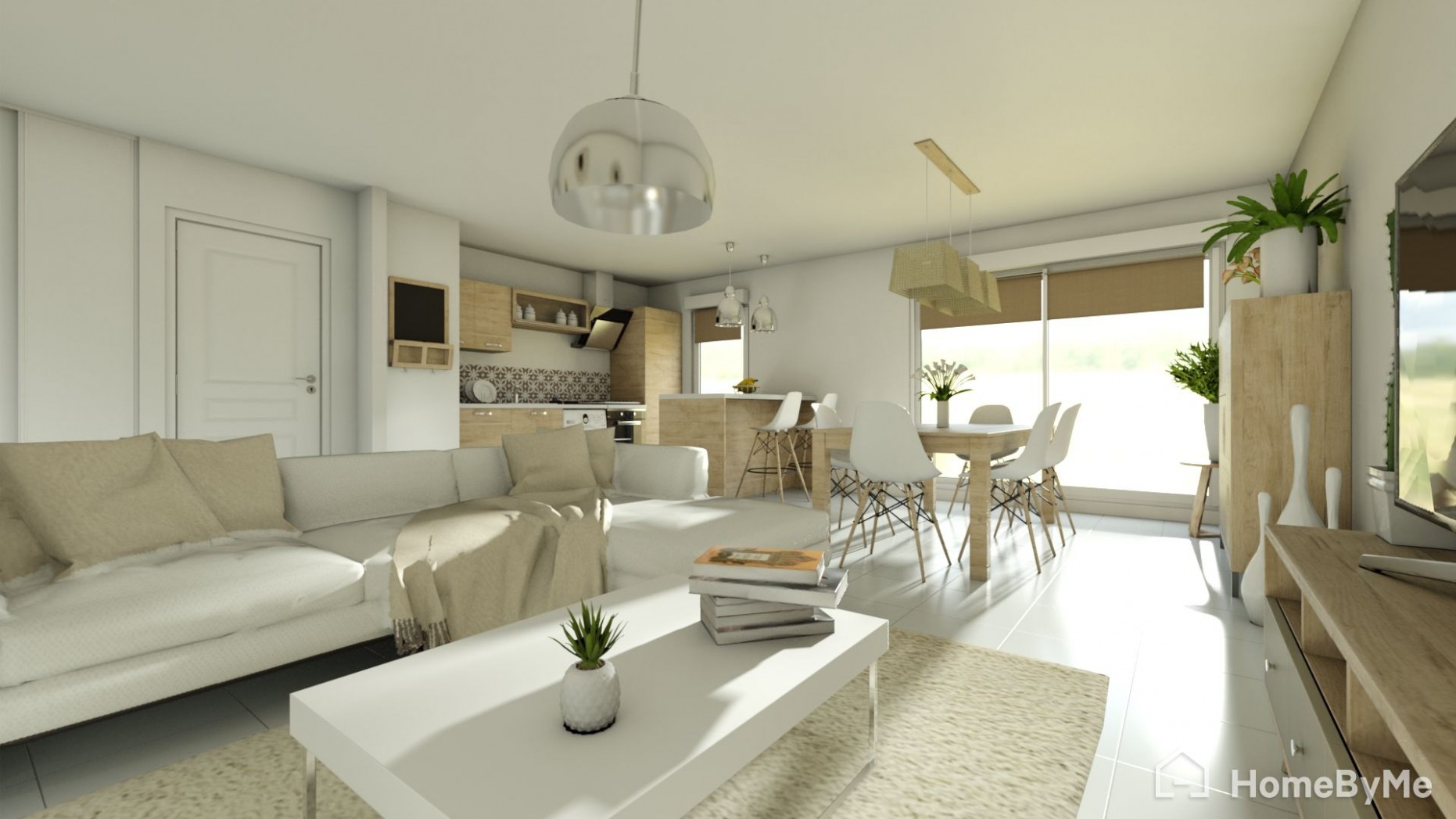Free and online 9D home design planner - HomeByMe - Apartment Design Online