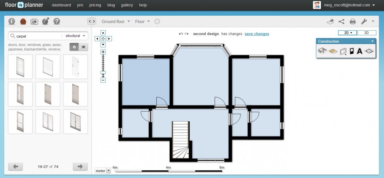 Free Floor Plan Software - Floorplanner Review - Apartment Design Tool Online