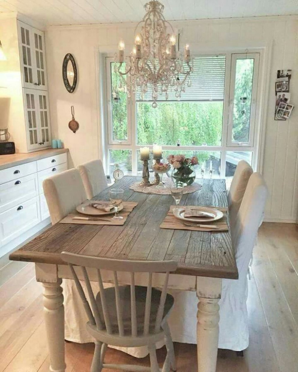 French Country Dining Room Table and Decor Ideas (11) - crowdecor  - Dining Room Ideas Country Style