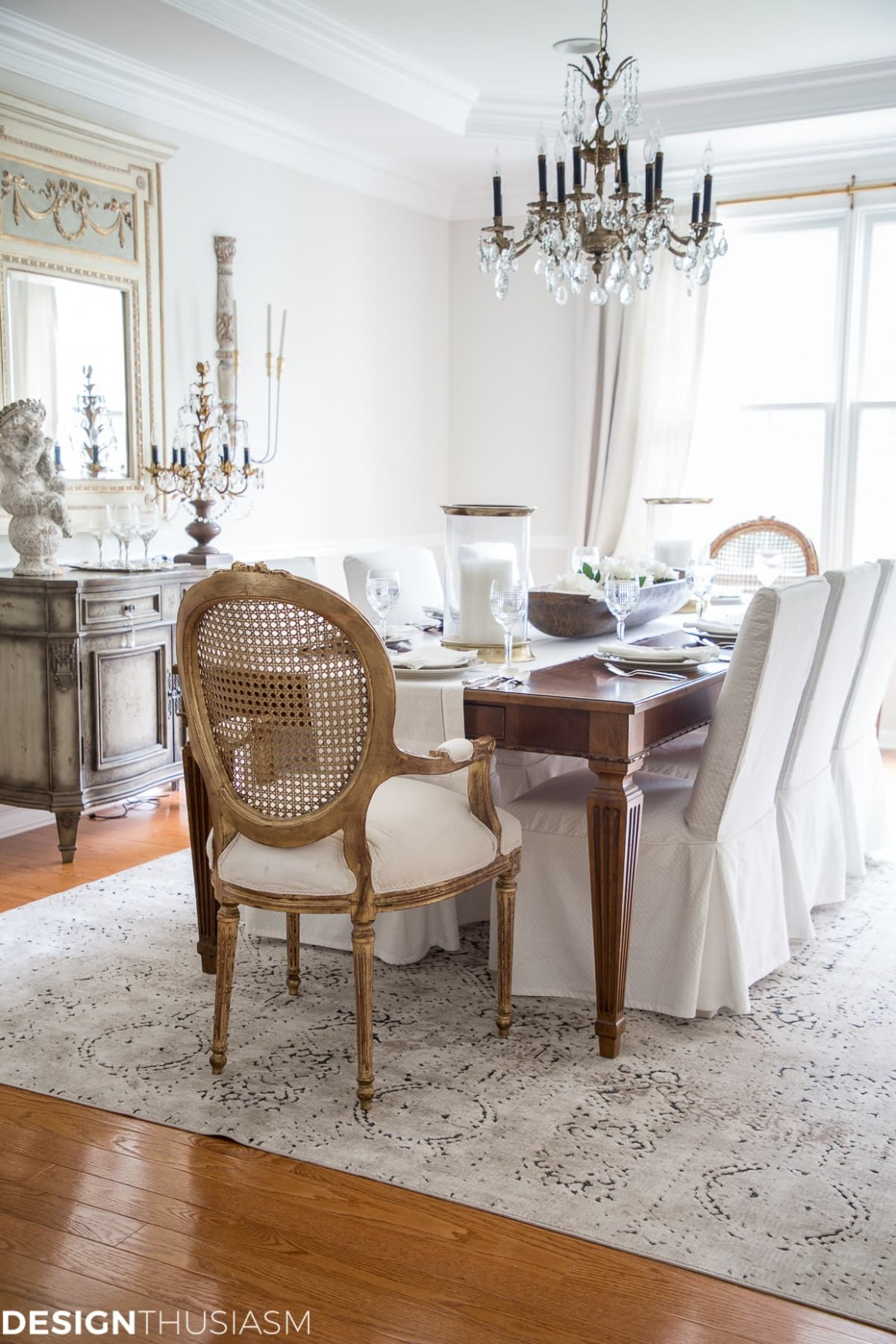 From Old School to Modern: The Evolution of a French Country  - Dining Room Ideas Country