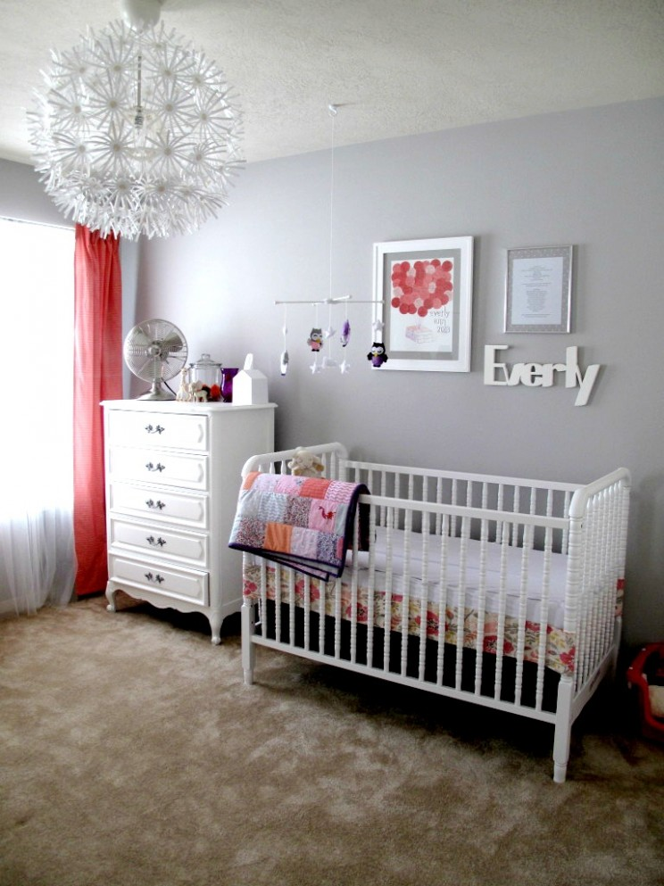 Gallery Roundup: Fun with Light Fixtures - Project Nursery - Baby Room Light Fixtures