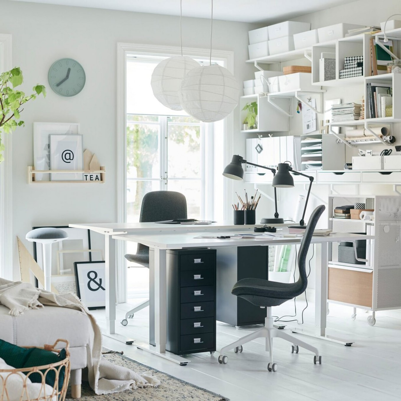 Get the perfect space for work, study and hobbies - IKEA - Home Office Storage Ideas Uk