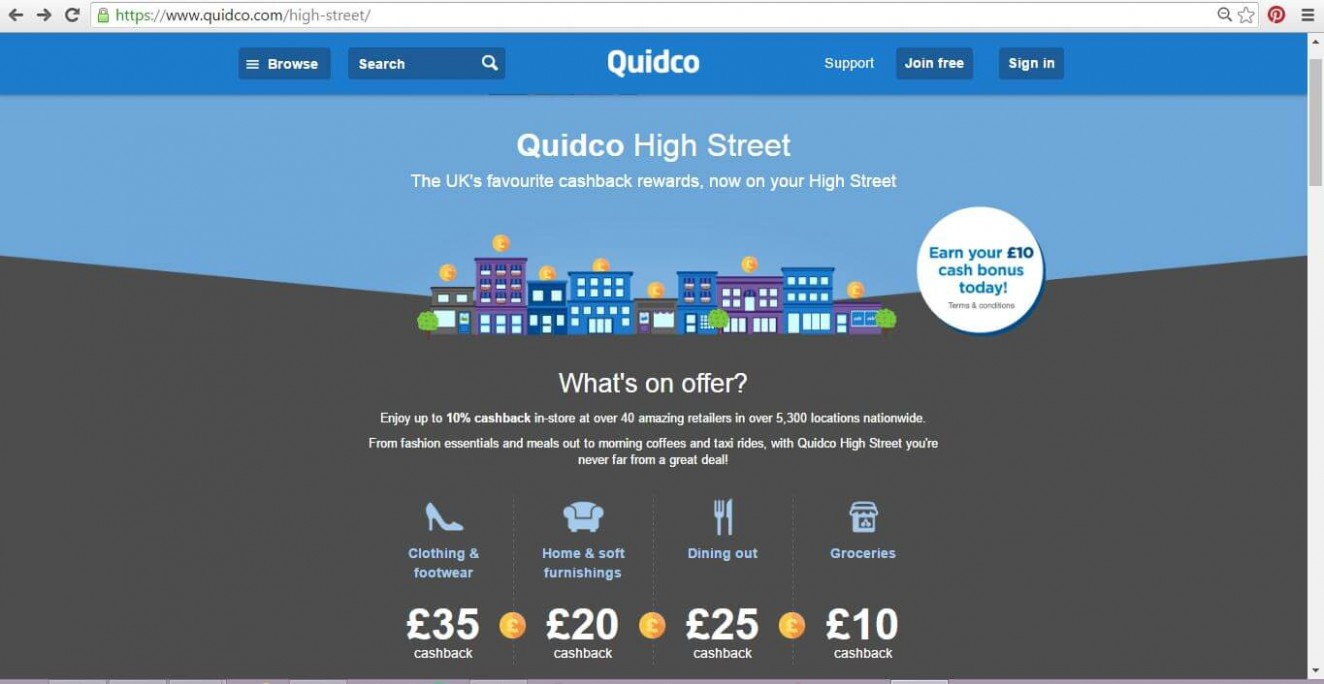 Getting Our Cashback On With Quidco High Street - The DADventurer  - The Baby Room Quidco