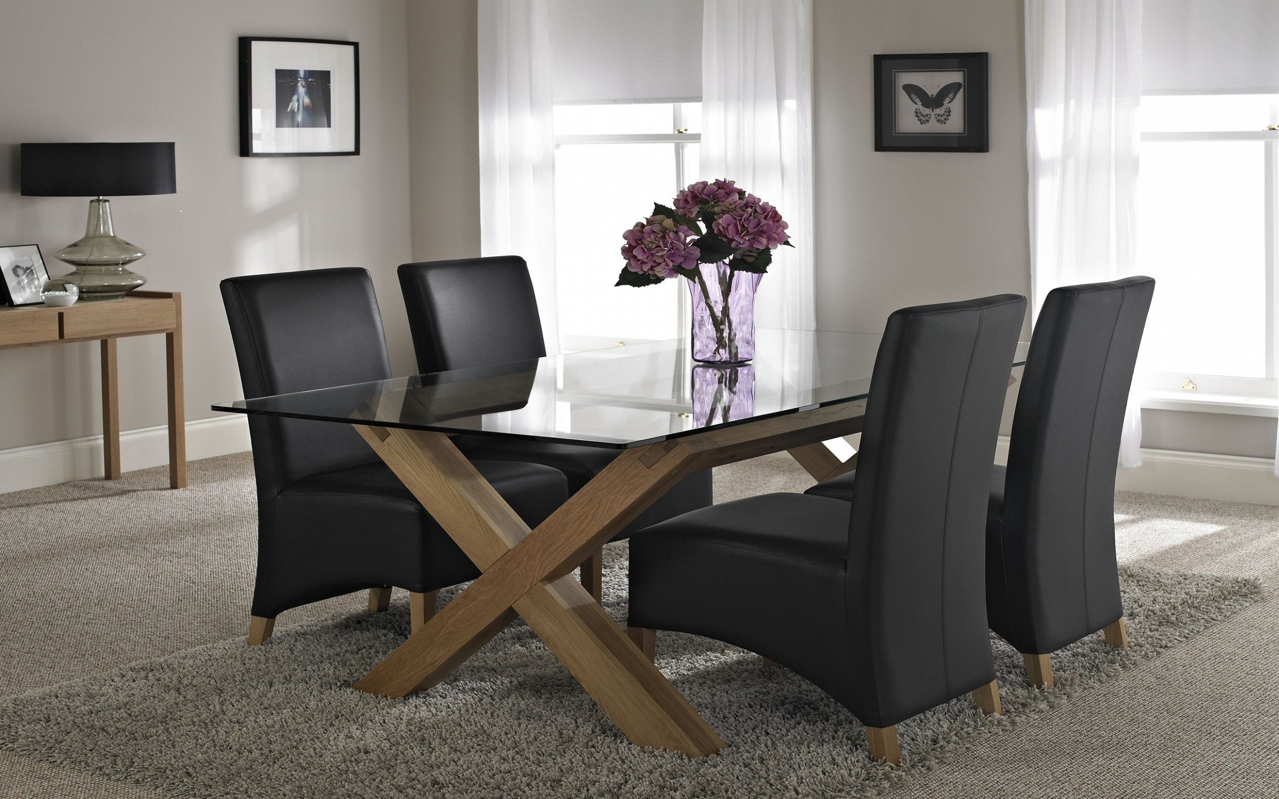 Glass Dining Tables Buying Guide -  Vale Furnishers Blog - Dining Room Ideas Glass Table