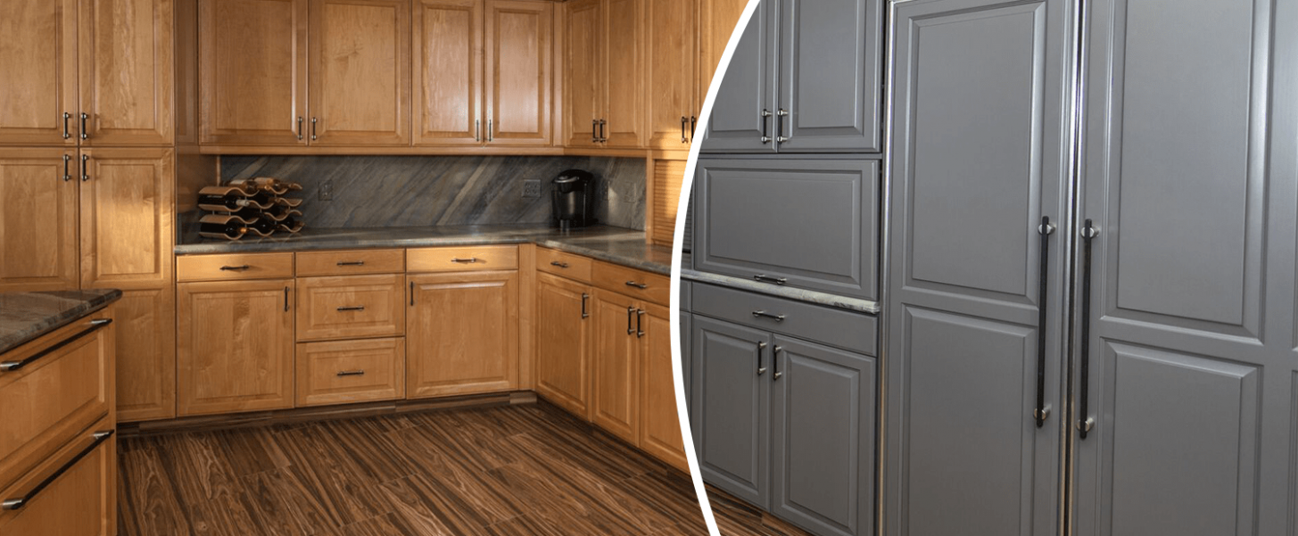 Gold Standard In Kitchen Cabinet Painting Refinishing Refacing And  - Kitchen Cabinet Refacing Niagara Falls