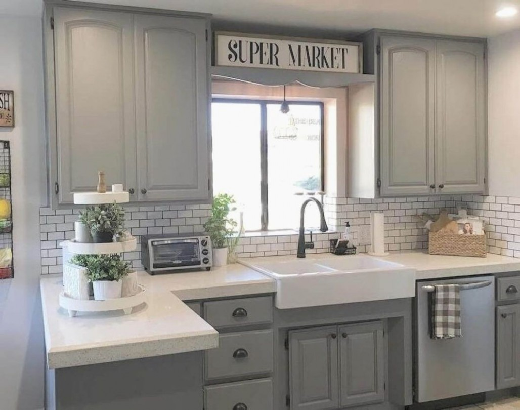 Gray Kitchen Cabinet Ideas Beautiful Grey Cabinets Decorapartment  - Beautiful Kitchens With Grey Cabinets