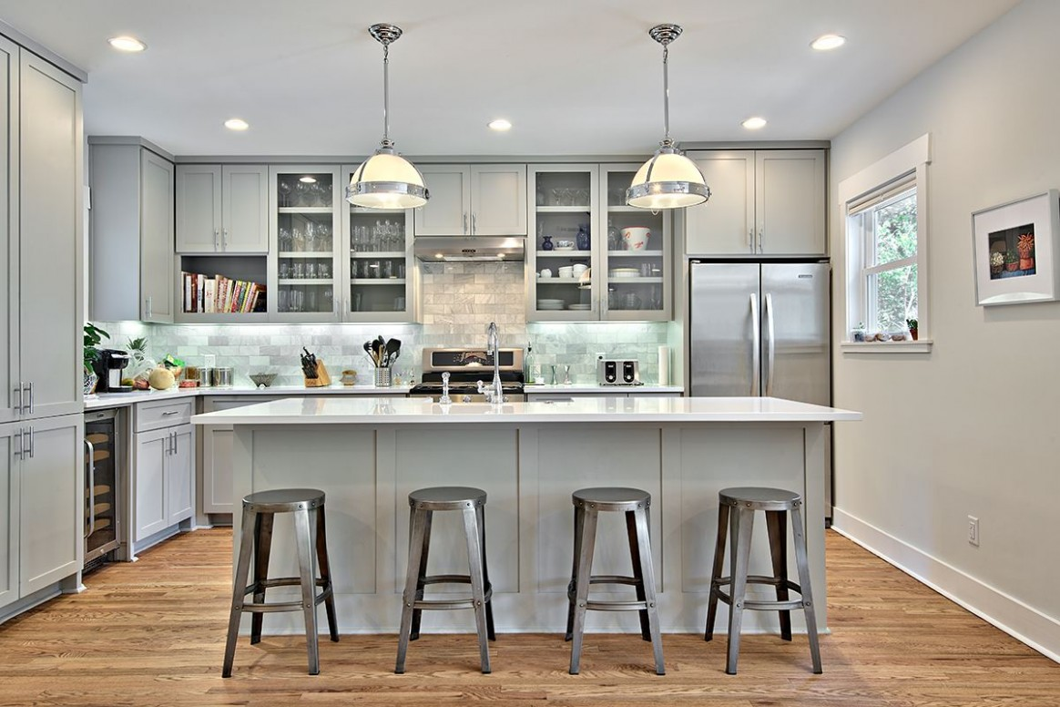 Gray Kitchen: The Most Beautiful Images Gray Kitchens 11 gorgeous  - Beautiful Kitchens With Grey Cabinets