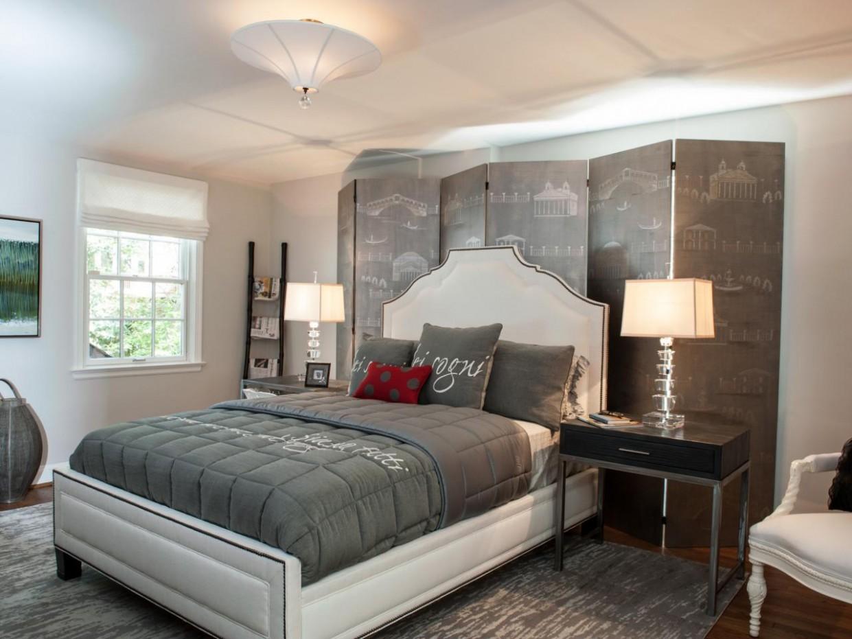 Gray Master Bedrooms Ideas  HGTV - Bedroom Ideas Hgtv