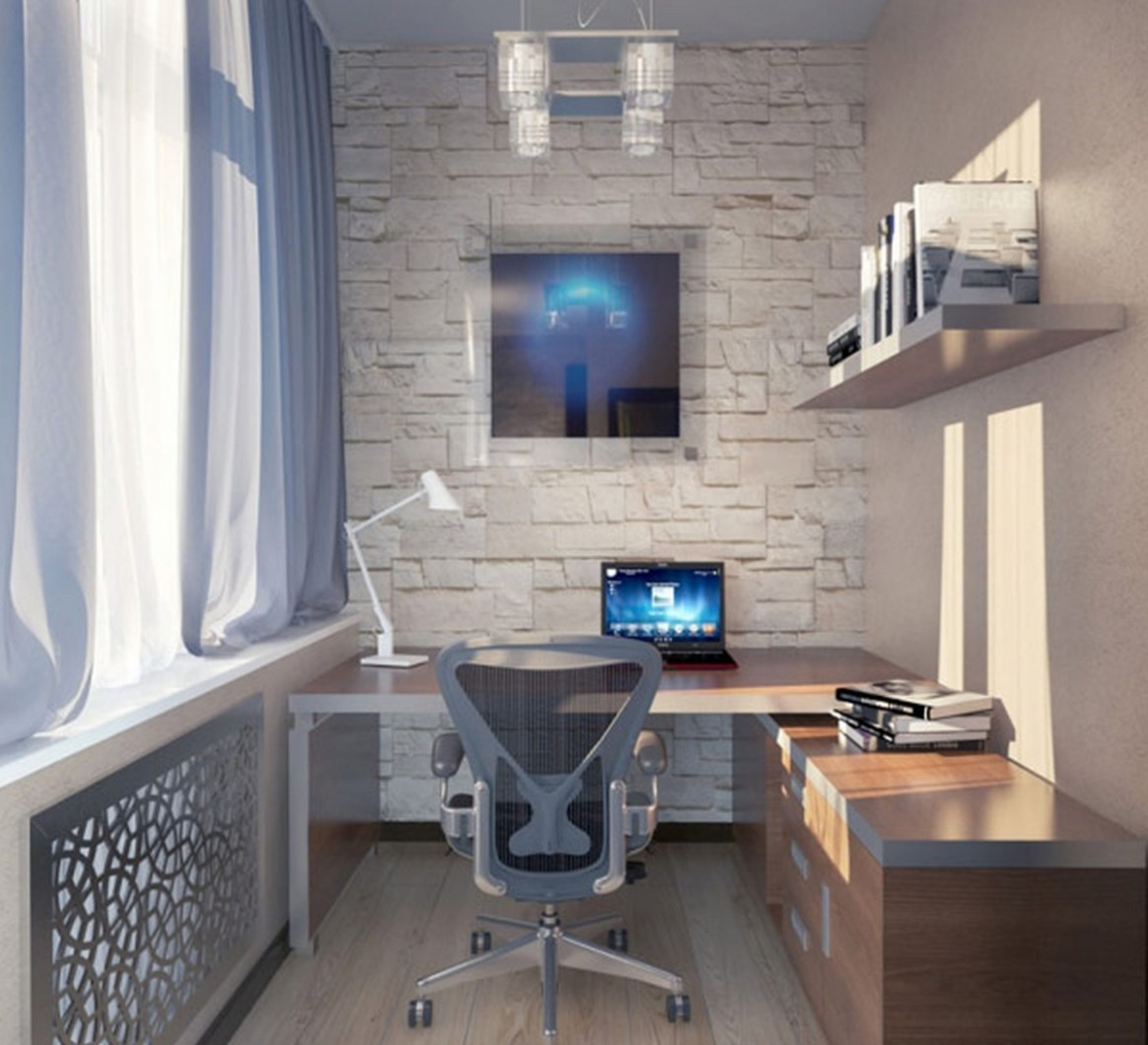 Great Small Home Office Ideas For Two With L Shaped Desk  - Home Office Ideas With L Shaped Desk