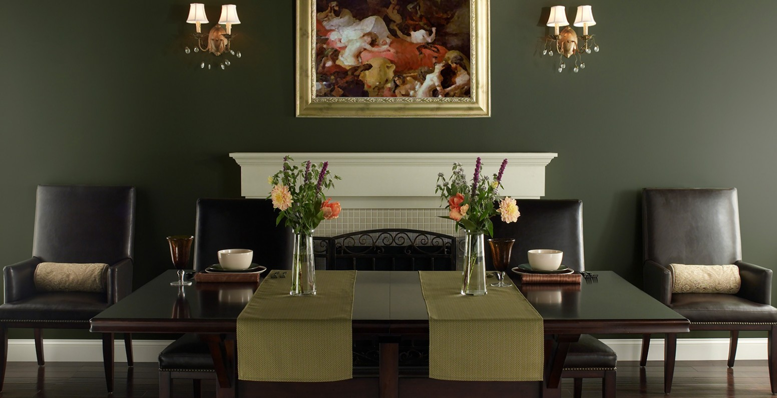 Green Dining Room Ideas and Inspiration  Behr - Dining Room Ideas Green
