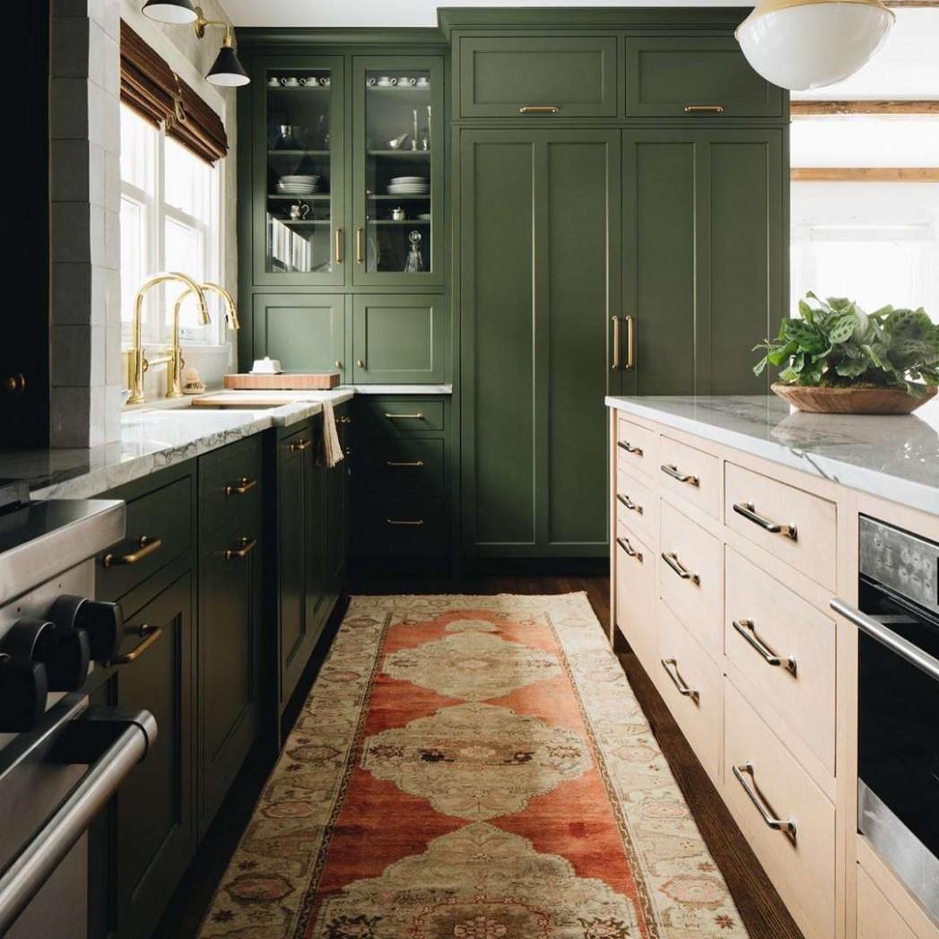 Green Kitchen Cabinet Ideas - Go Green Kitchen Cabinets