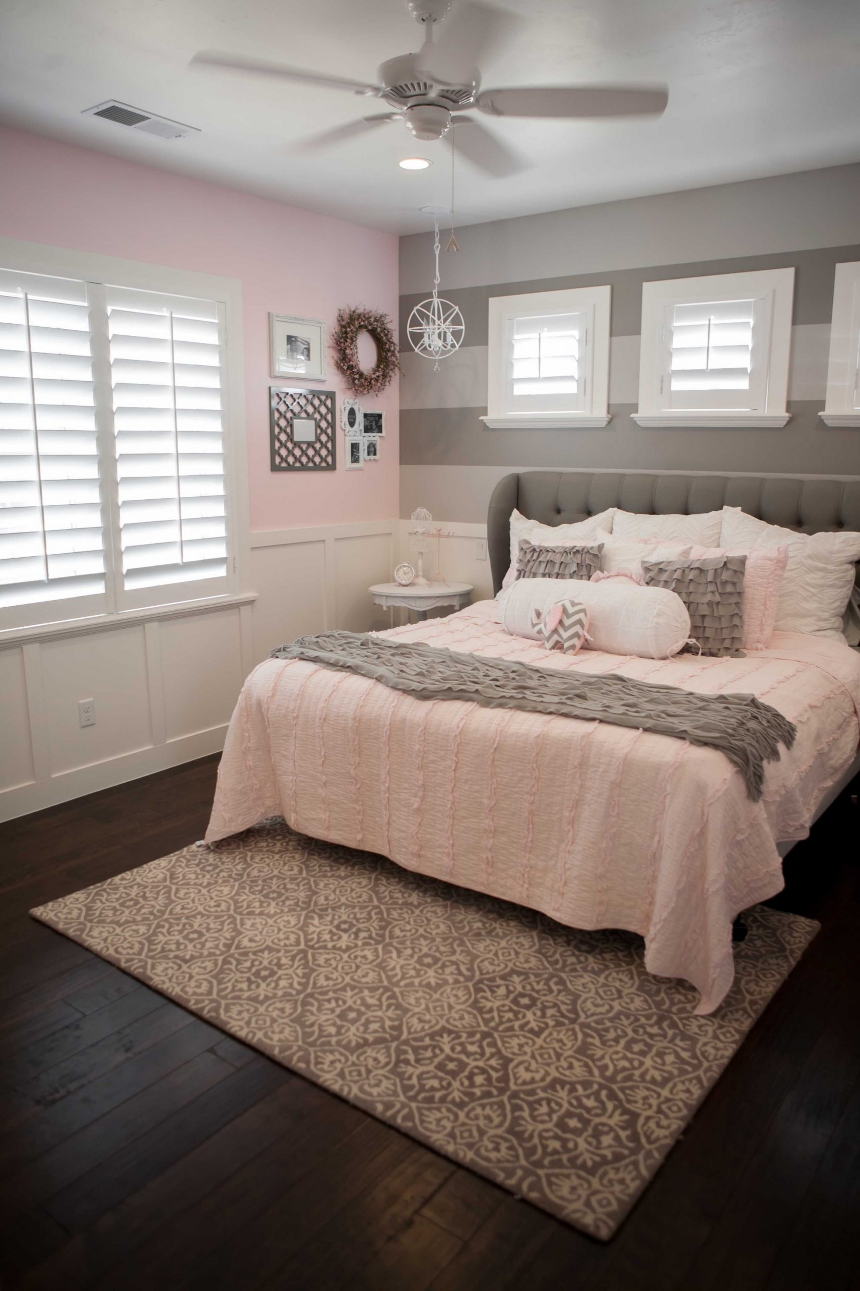 Grey And Pink Bedroom Ideas - http://aprikot