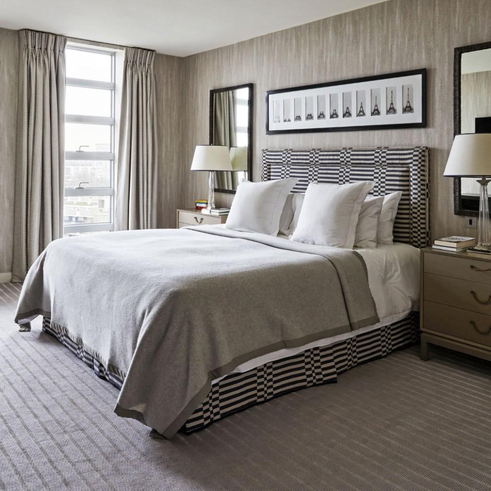 Grey bedroom ideas – grey bedroom decorating – grey colour scheme - Bedroom Ideas Hotel Style