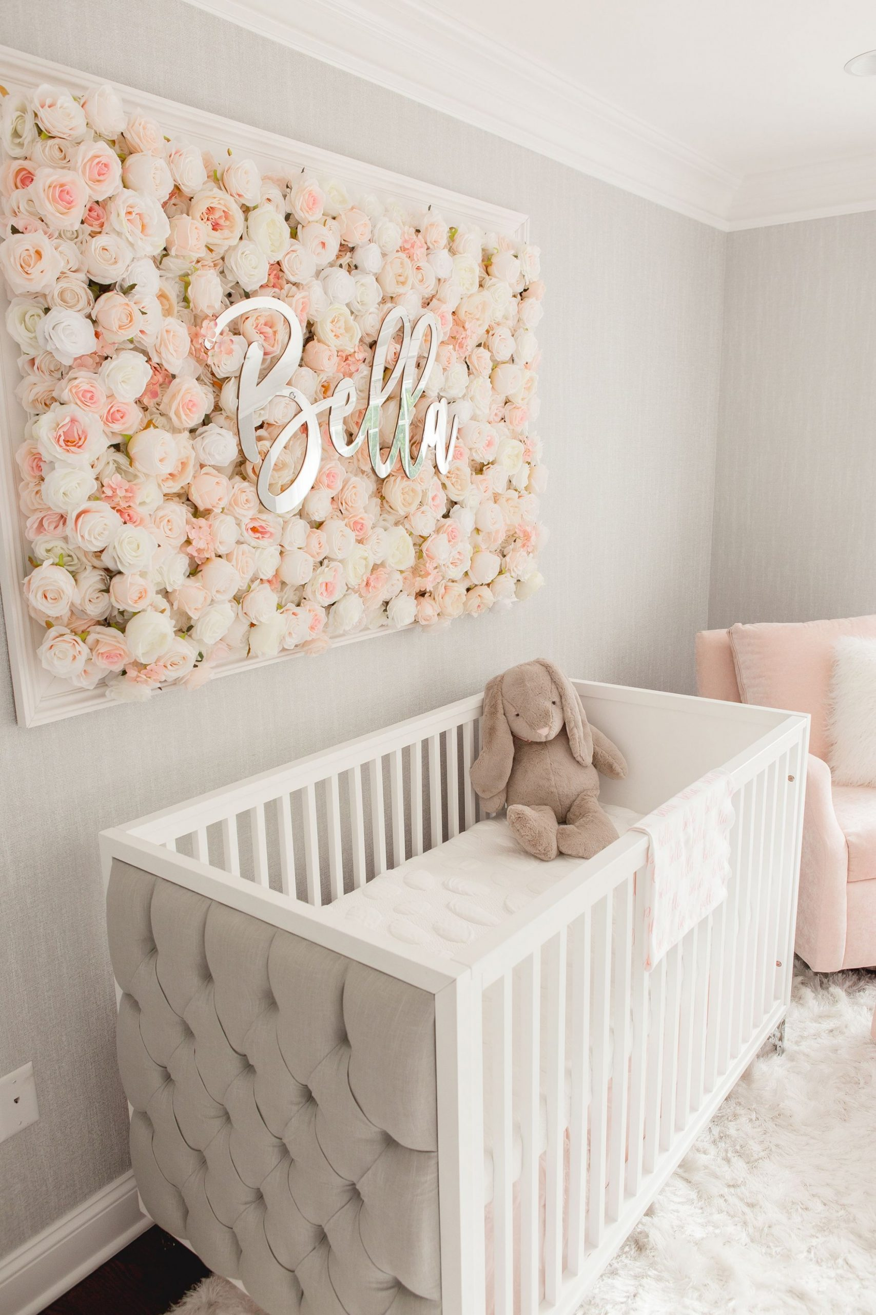 Guess Which Celebrity Nursery Inspired this Gorgeous Space  - Baby Room Decor Girl