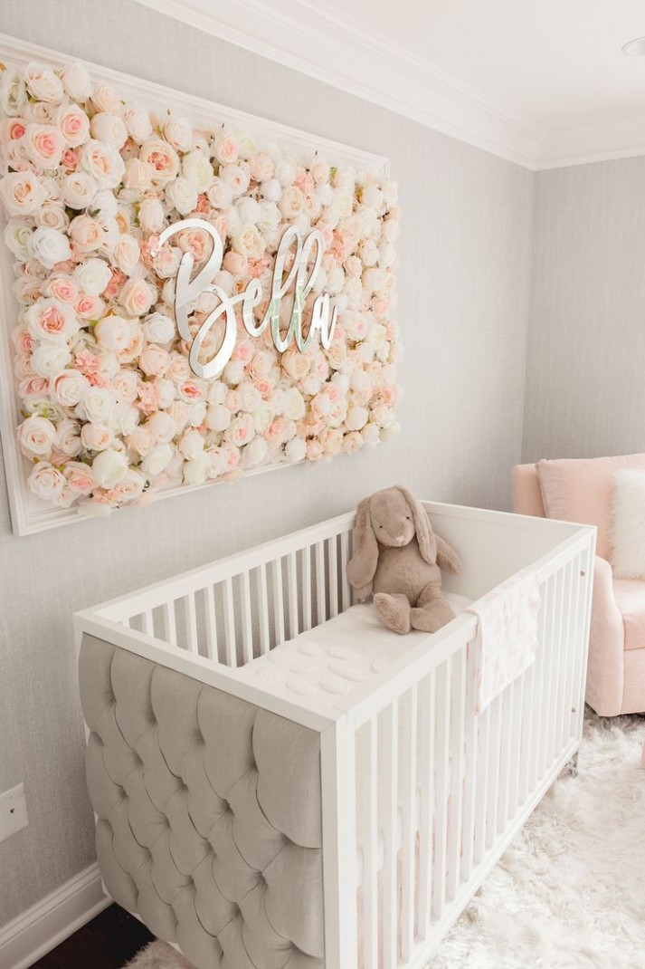 Guess Which Celebrity Nursery Inspired this Gorgeous Space  - Baby Room Pinterest