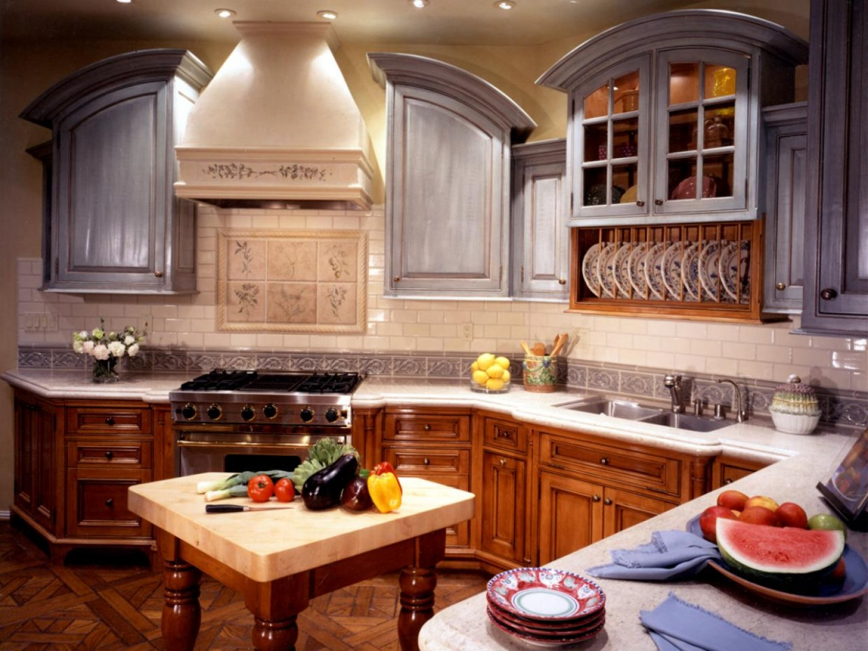 Guide to Creating an Old World Kitchen  DIY - World Kitchen Cabinets