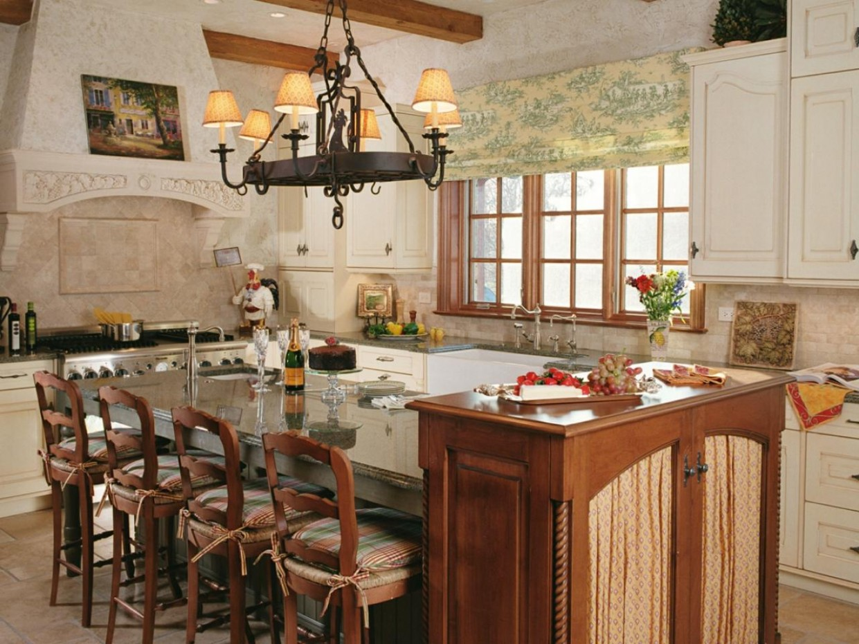 Guide to Creating an Old World Kitchen  HGTV - World Kitchen Cabinets