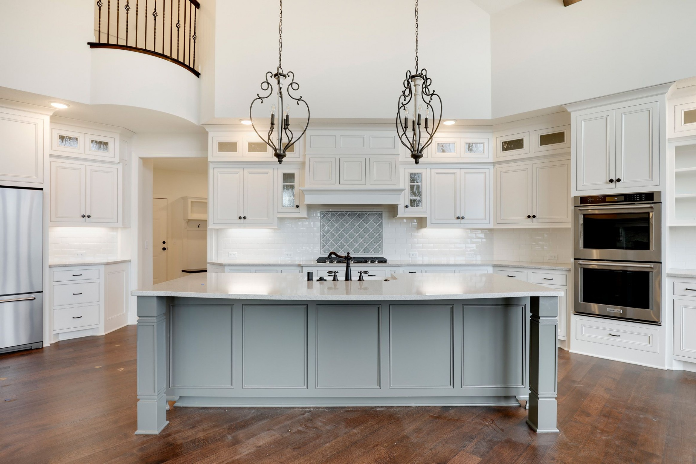 Hanson Builders Custom Kitchen in 11  New homes for sale  - Hanson Kitchen Cabinets