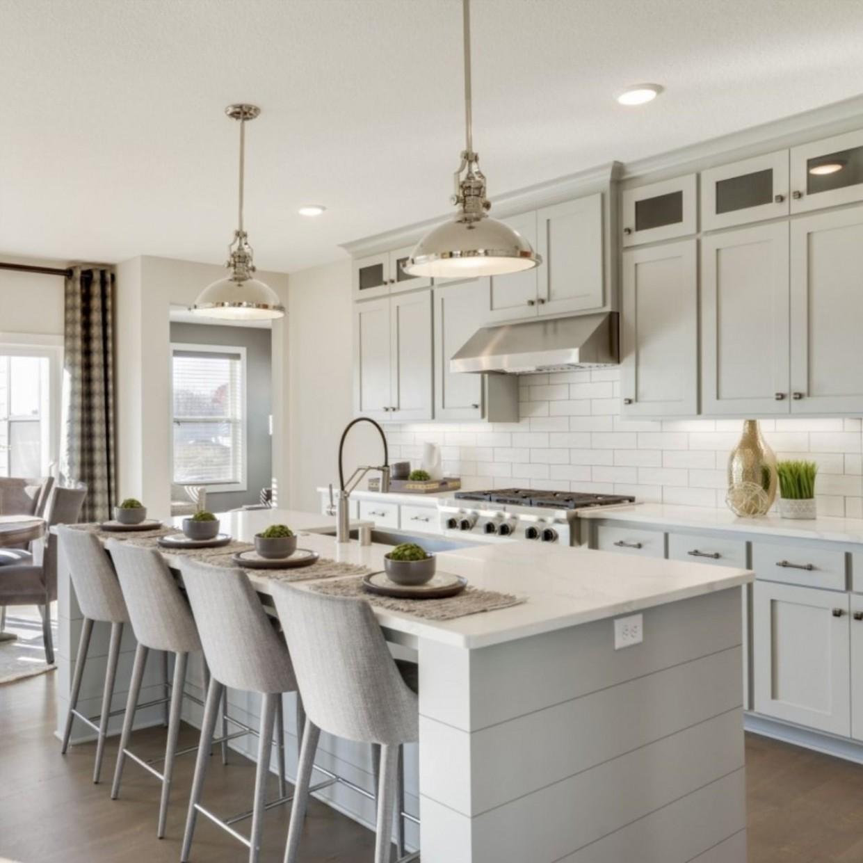 Hanson Builders - Hillcrest Kitchen in 11  Kitchen interior  - Hanson Kitchen Cabinets