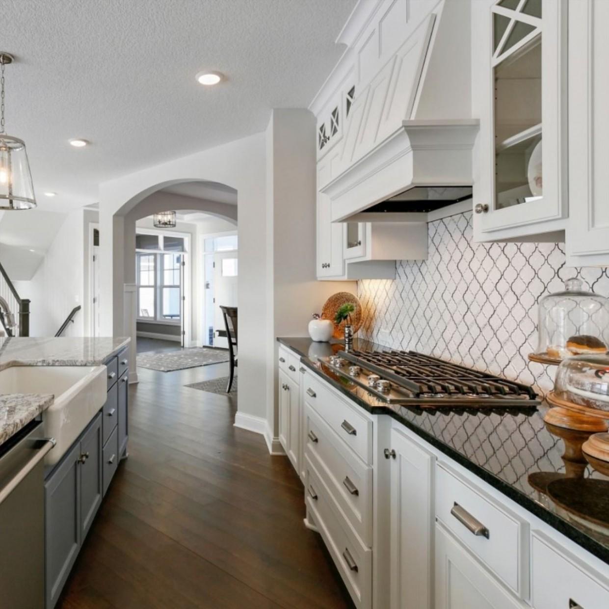 Hanson Builders - Pennington Kitchen in 11  Kitchen  - Hanson Kitchen Cabinets