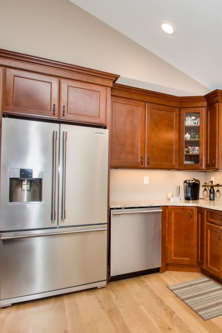Hanson  Kitchen gallery, Glass front cabinets, Wood cabinets - Hanson Kitchen Cabinets
