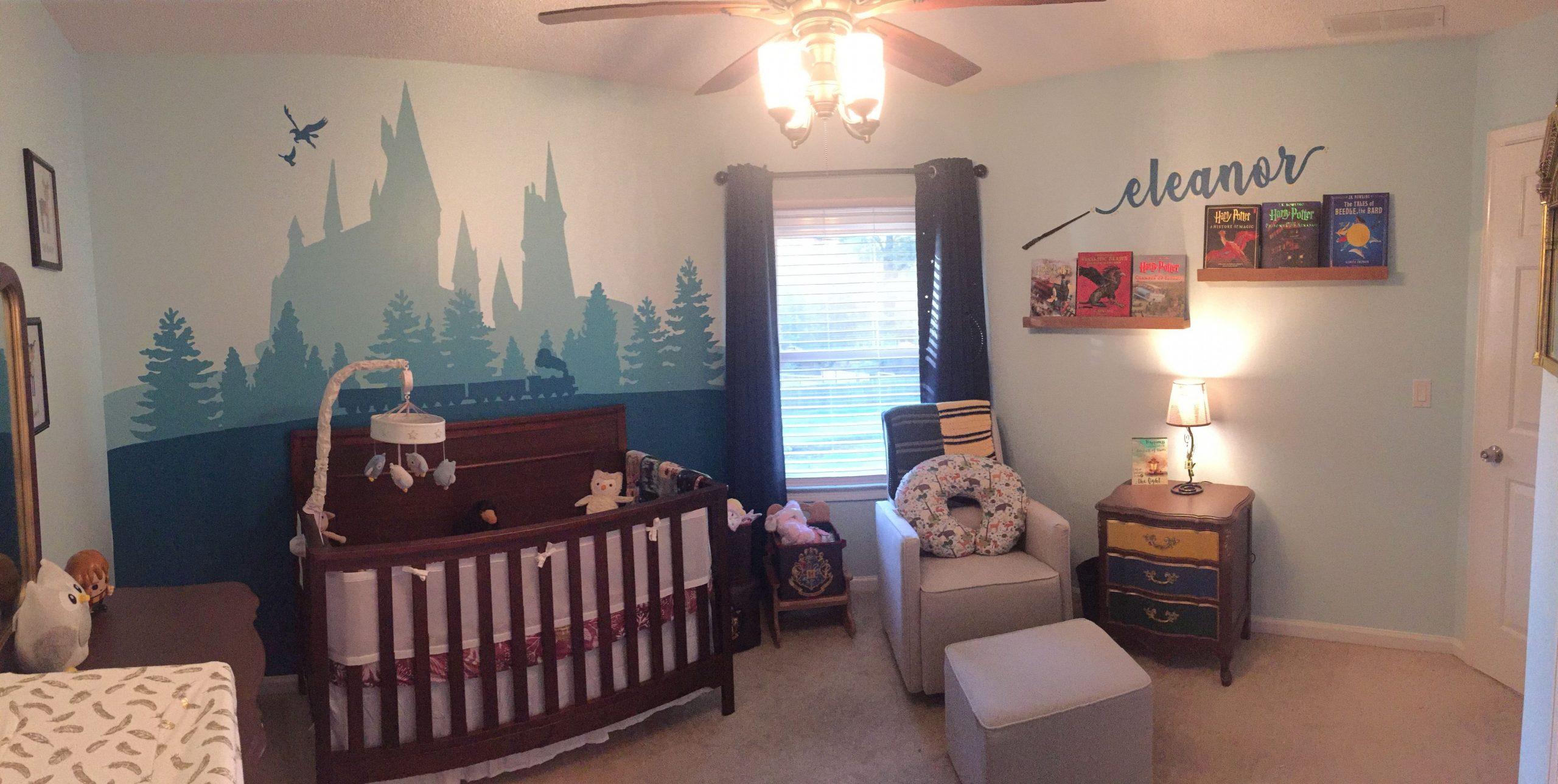 Harry Potter Nursery  Harry potter baby nursery, Harry potter  - Baby Room Harry Potter