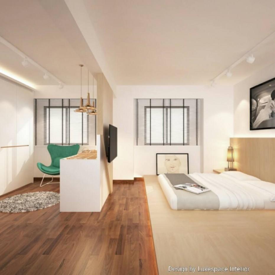 HDB - Singapore Master bedroom  Wardrobe design bedroom, Master  - Bedroom Ideas Hdb
