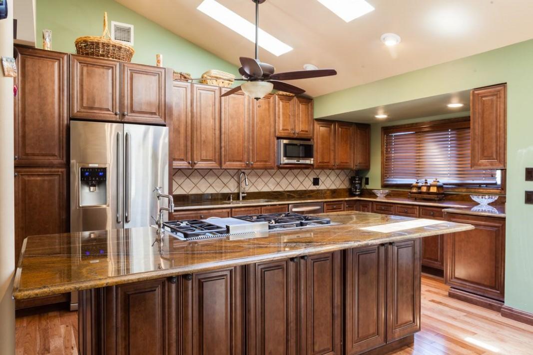 Home Cabinet Westbury MO10 Chocolate Maple Glazed Kitchen Cabinets  - Wholesale Kitchen Cabinets And Granite