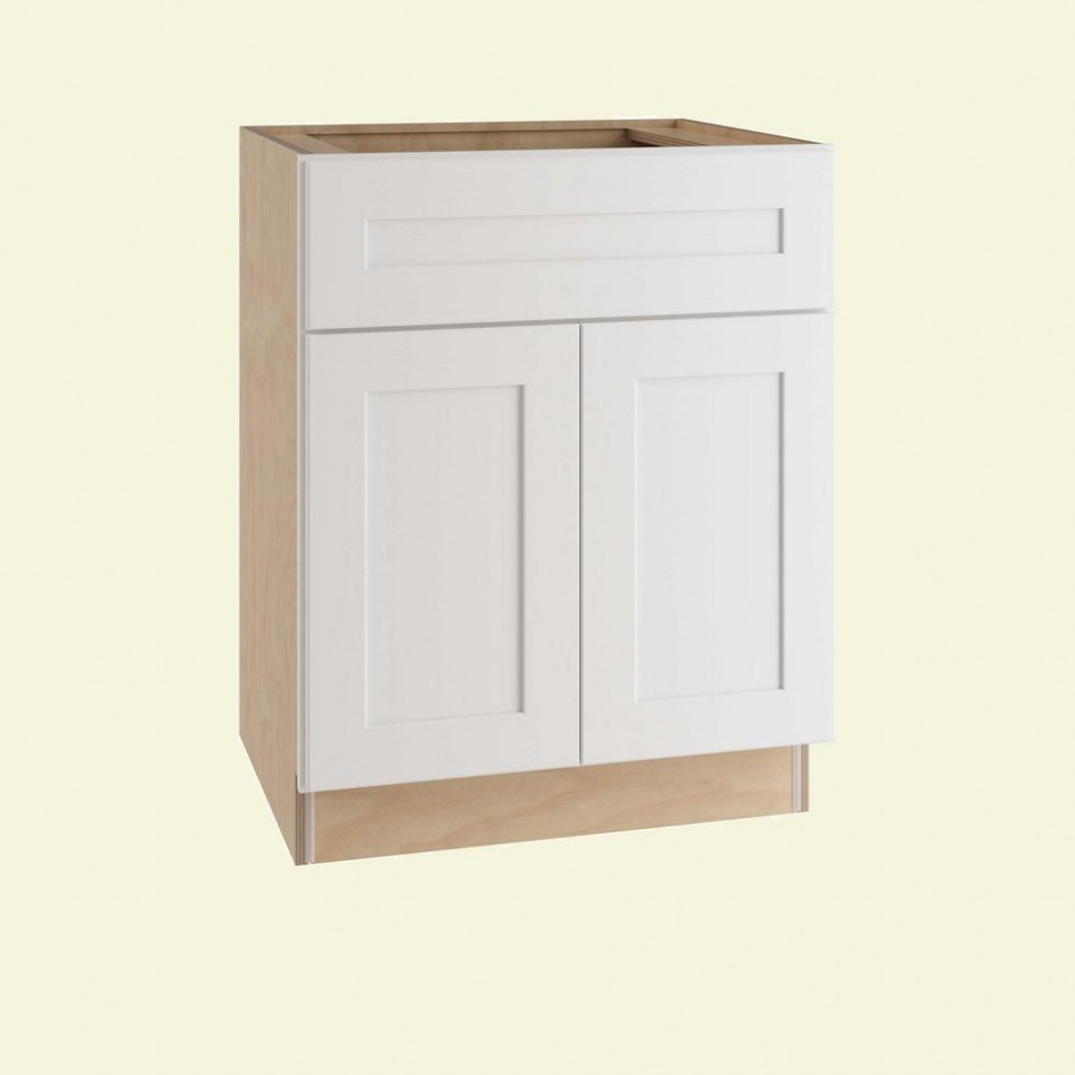 Home Decorators Collection Newport Assembled 10 x 10 x 10 in  - 21 Inch Deep Kitchen Base Cabinet