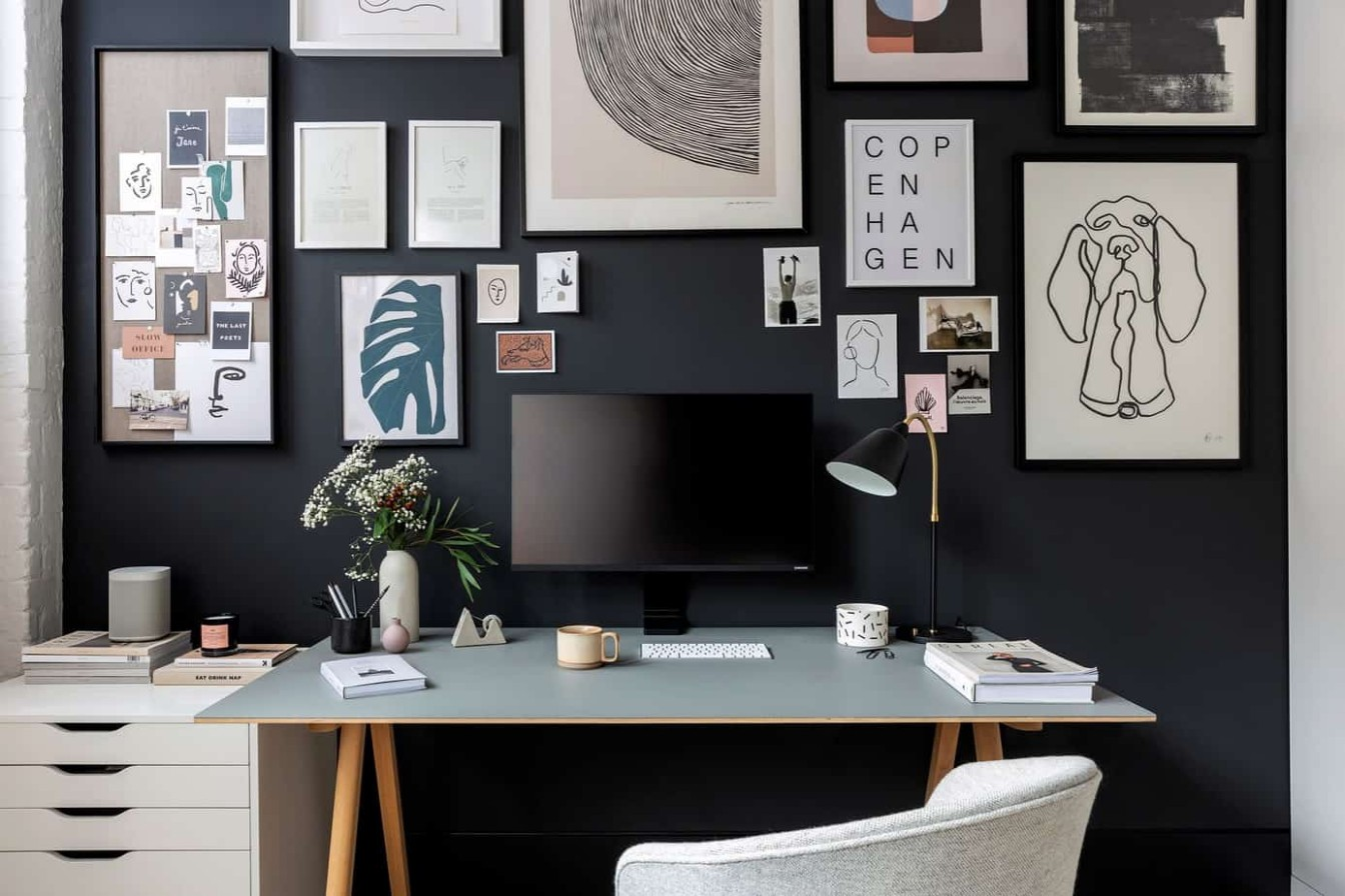 Home Office 12 l➤ Popular Styles, Trends and Design Ideas - Home Office Design Ideas 2021