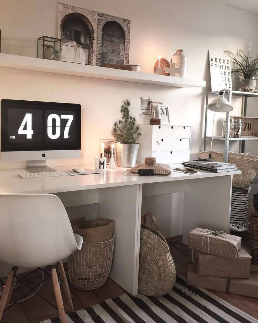 Home Office 12: Organization of Your Perfect Home Office (images  - Home Office Design Ideas 2021