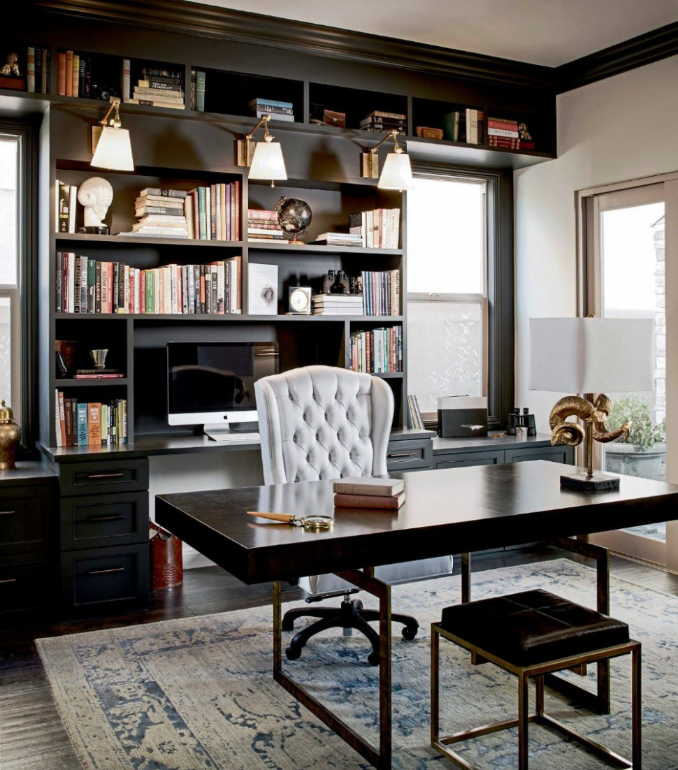 Home Office Décor Ideas - How To Design A Workspace At Home - Home Office Location Ideas