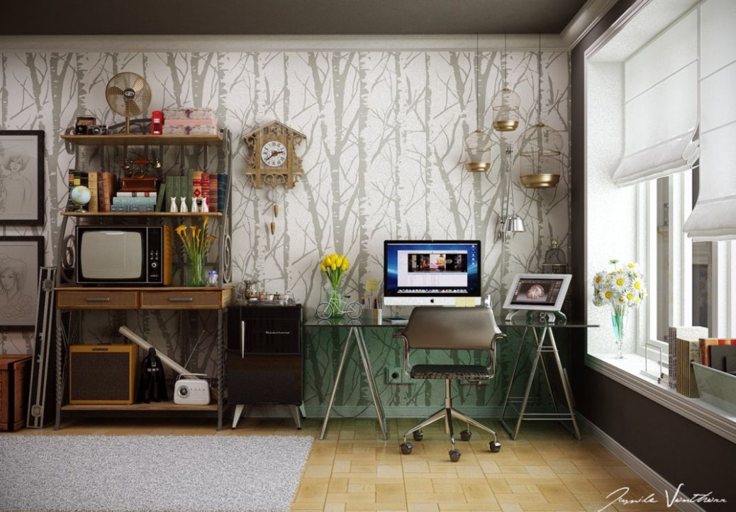 Home Office Decor Ideas To Revamp and Rejuvenate Your Workspace - Nautical Home Office Ideas
