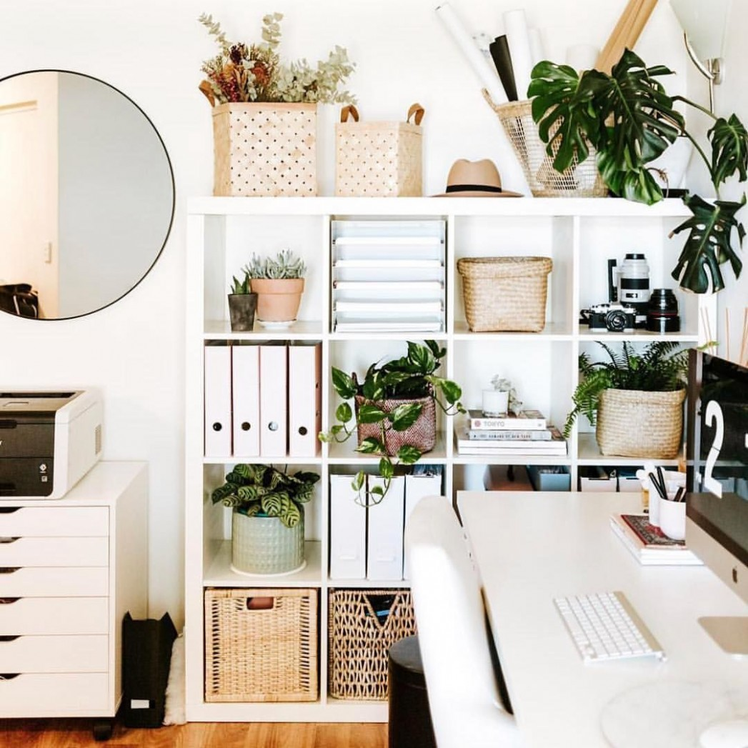 Home office goals by @merlinalam! Kmart has such an awesome range  - Home Office Ideas Kmart