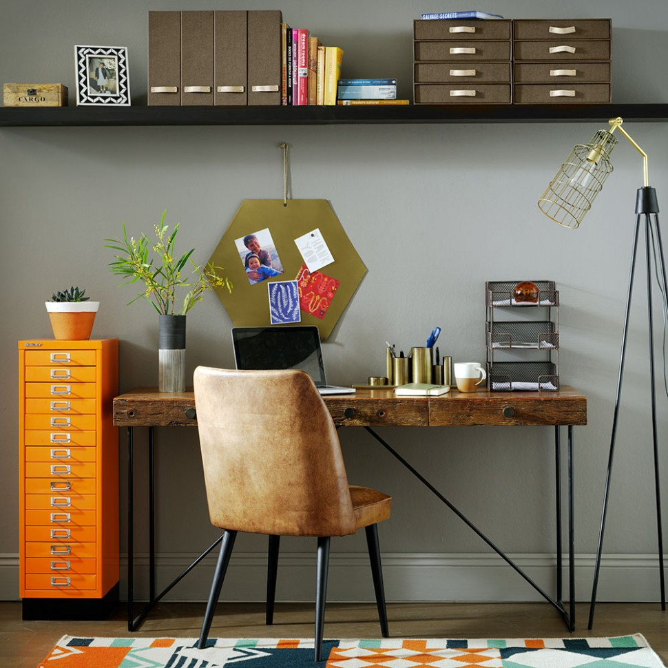 Home office ideas, designs and inspiration  Ideal Home - Home Office Storage Ideas Uk