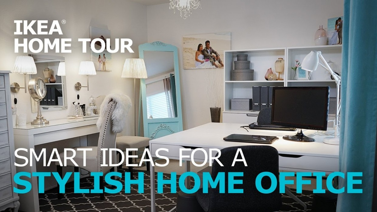 Home Office Ideas - IKEA Home Tour - Home Office Ideas Youtube