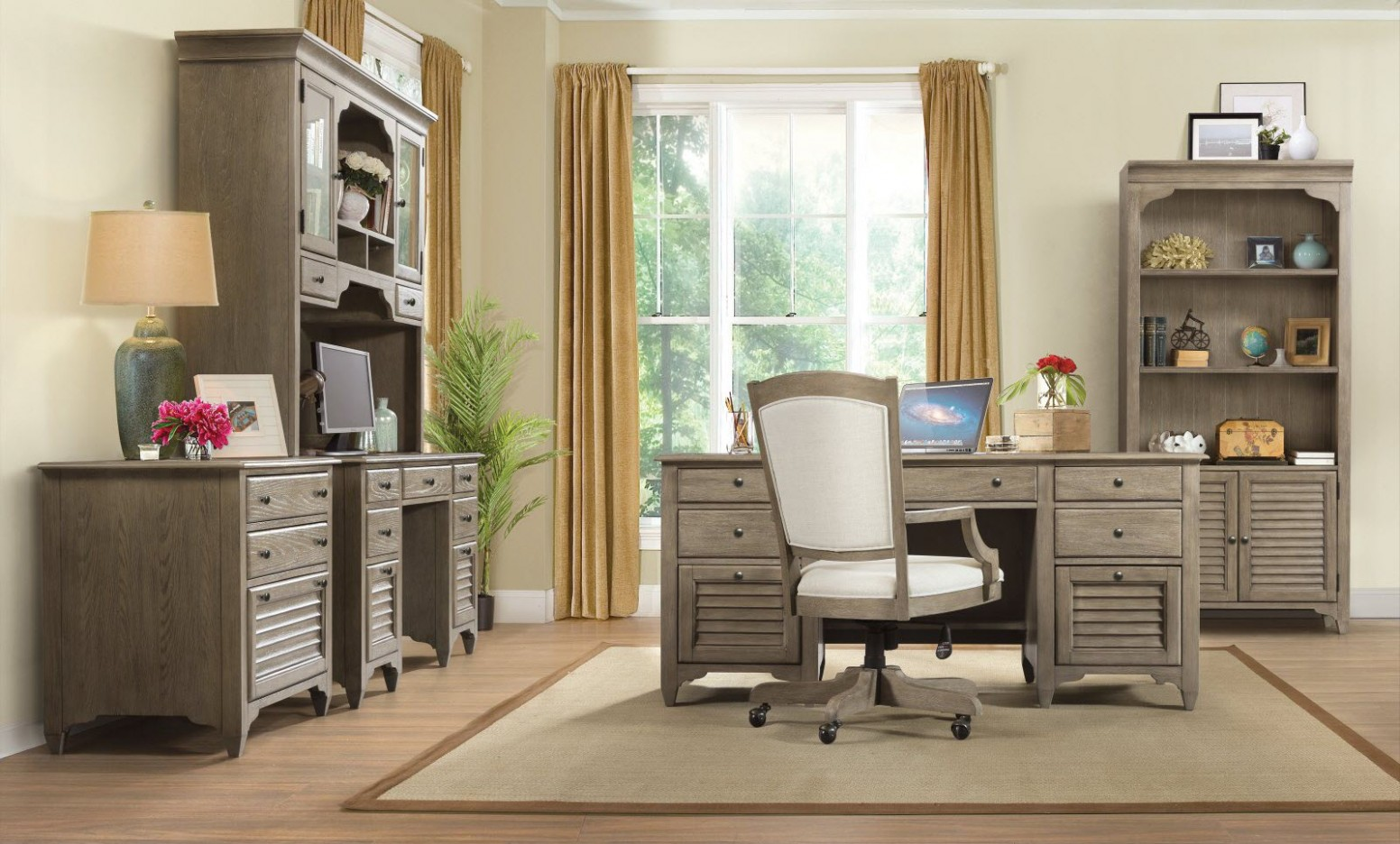 Home Office Ideas: Tips for Setting Up and Designing Your  - Home Office Ideas With L Shaped Desk
